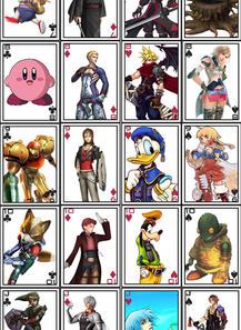 Custom Playing Card Set 1 by Ansem87