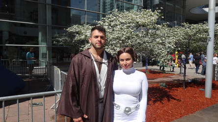 DPCC 2019: Jedi and Leia by Mr-Herp-Derp