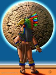 Chica azteca