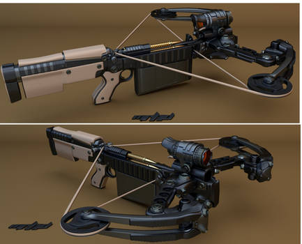 Automatic Crossbow by mrhd