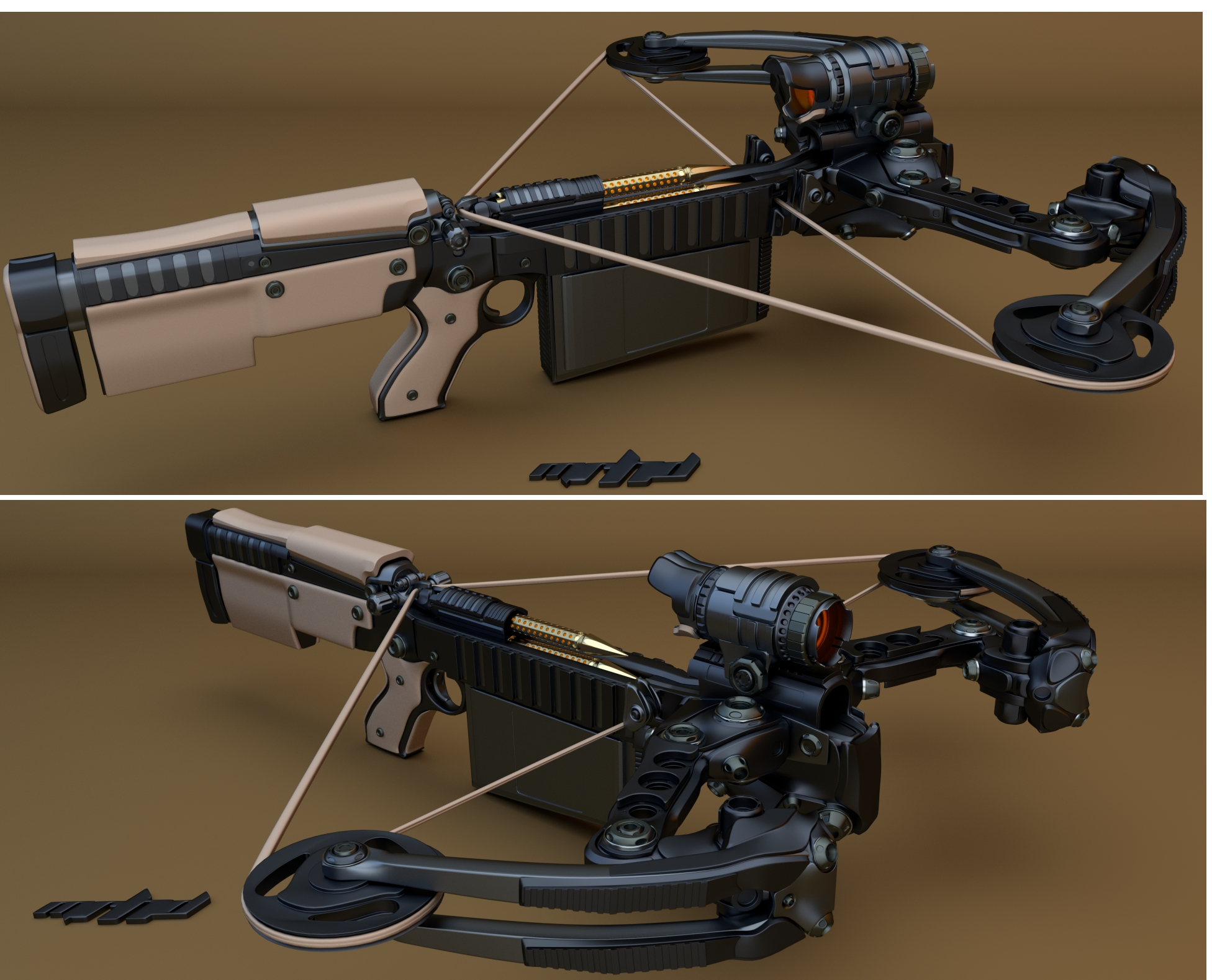 Repeating crossbow - Wikipedia