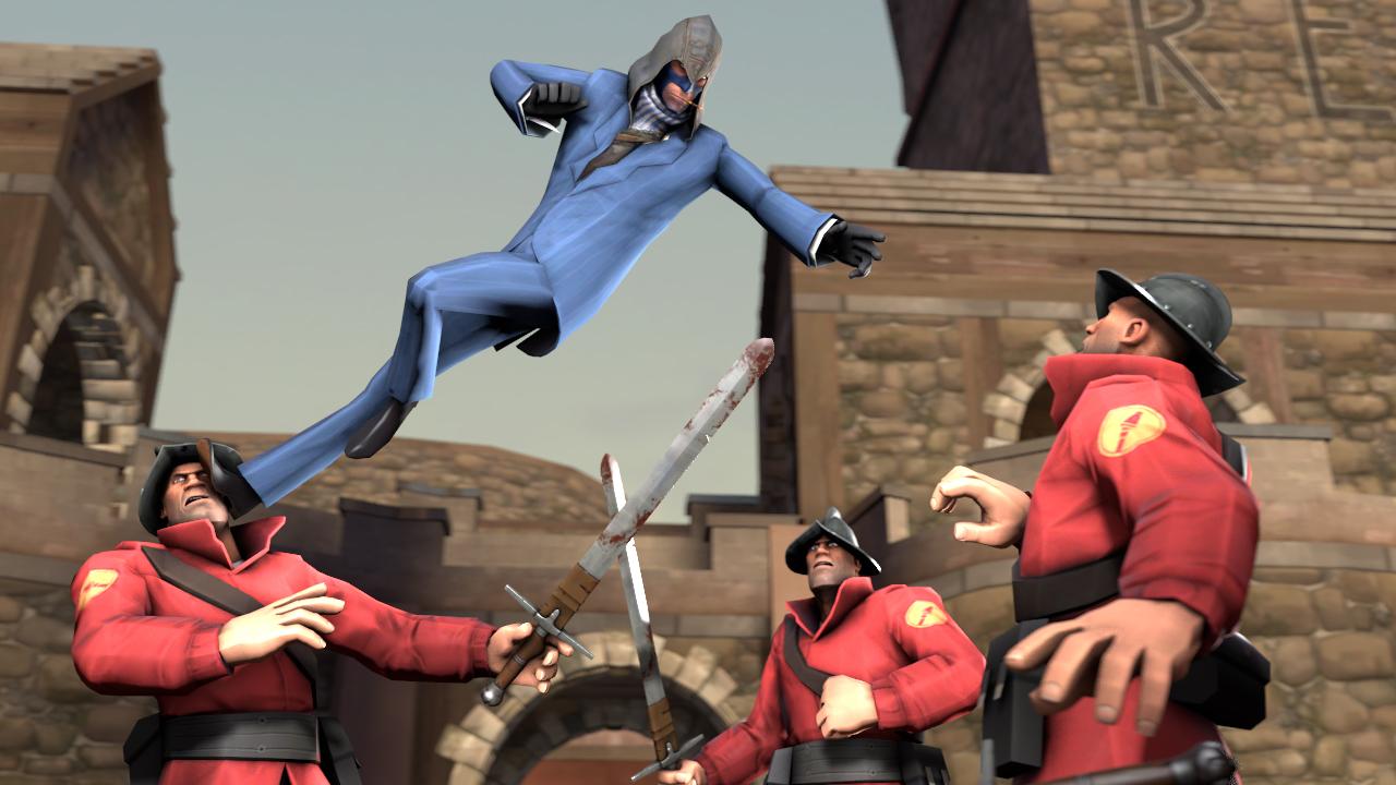 Spy's Creed: Backstabershood by MrRiar