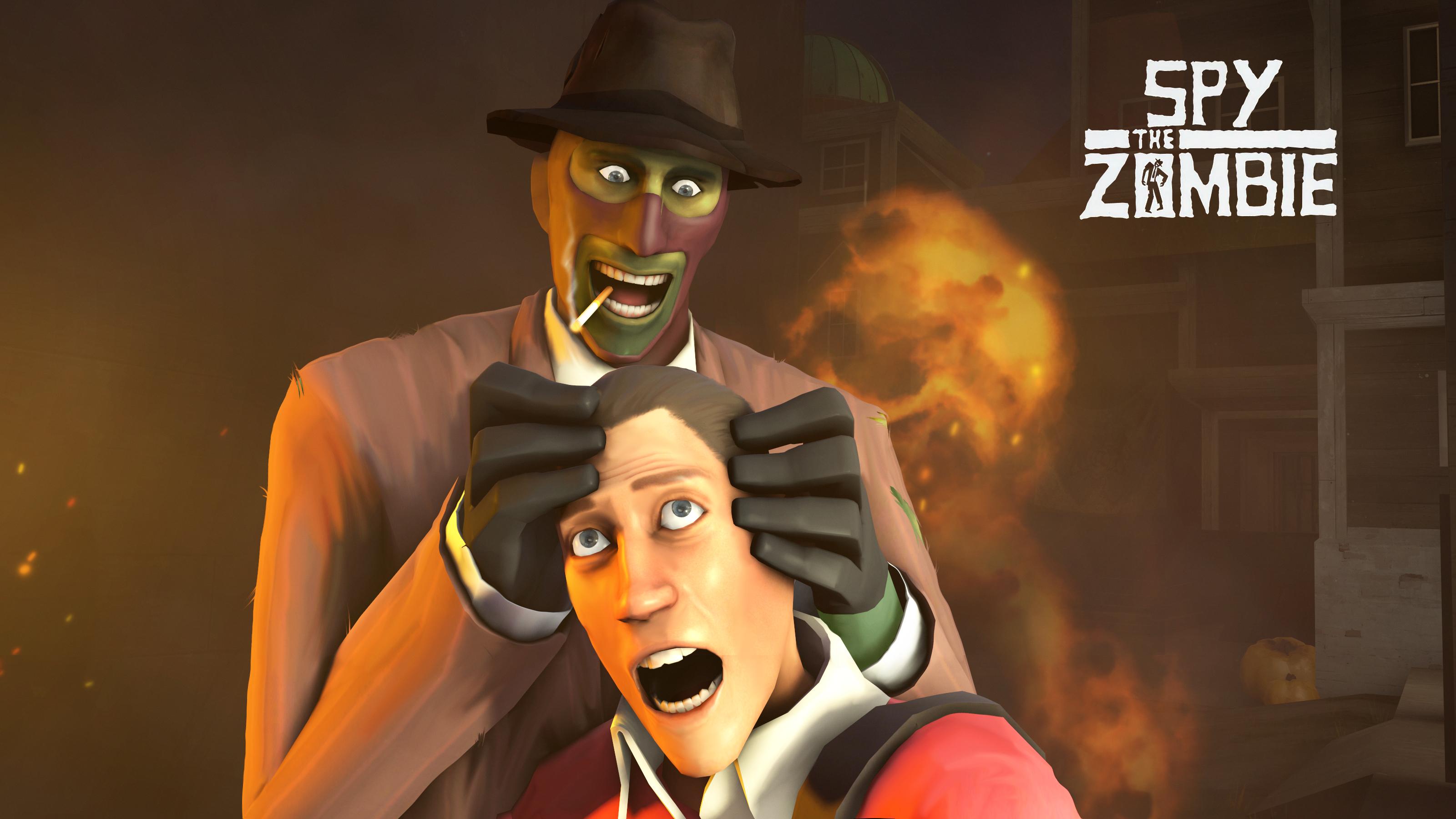 Spy the Zombie by MrRiar