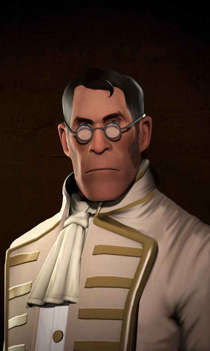 Medic Portrait by MrRiar