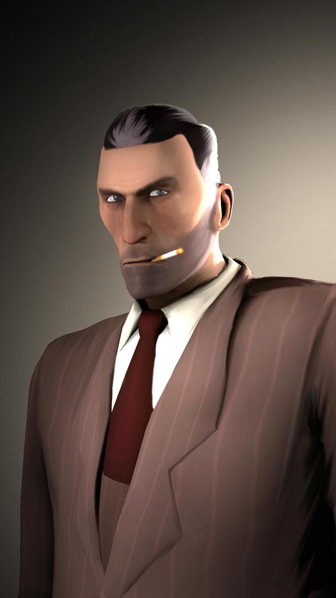 Portrait of a Spy by MrRiar