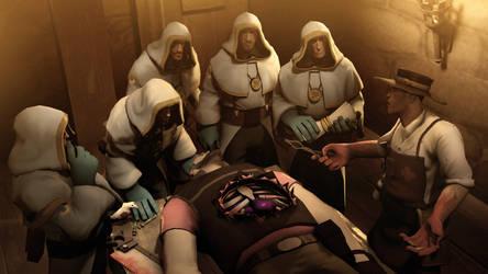 Medieval medical practice by MrRiar