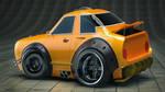 Cartoon Car  Redshift Cinema 4D by botshow