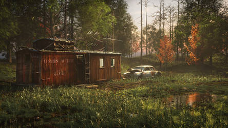 Abandoned Country Shack Concept by botshow