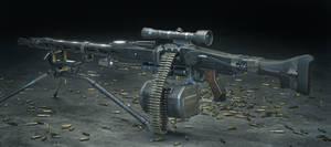 MG-42 Custom Machine Gun