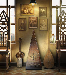 Traditional Instruments Music Room