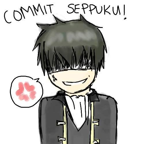 commit seppuku by animeotaku01 on deviantart