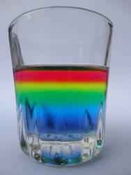 The rainbow colors in my noggin