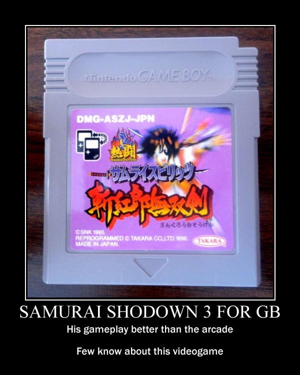 Samurai Shodown 3 for GB by Maleiva