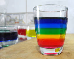 Creating a rainbow in my glass