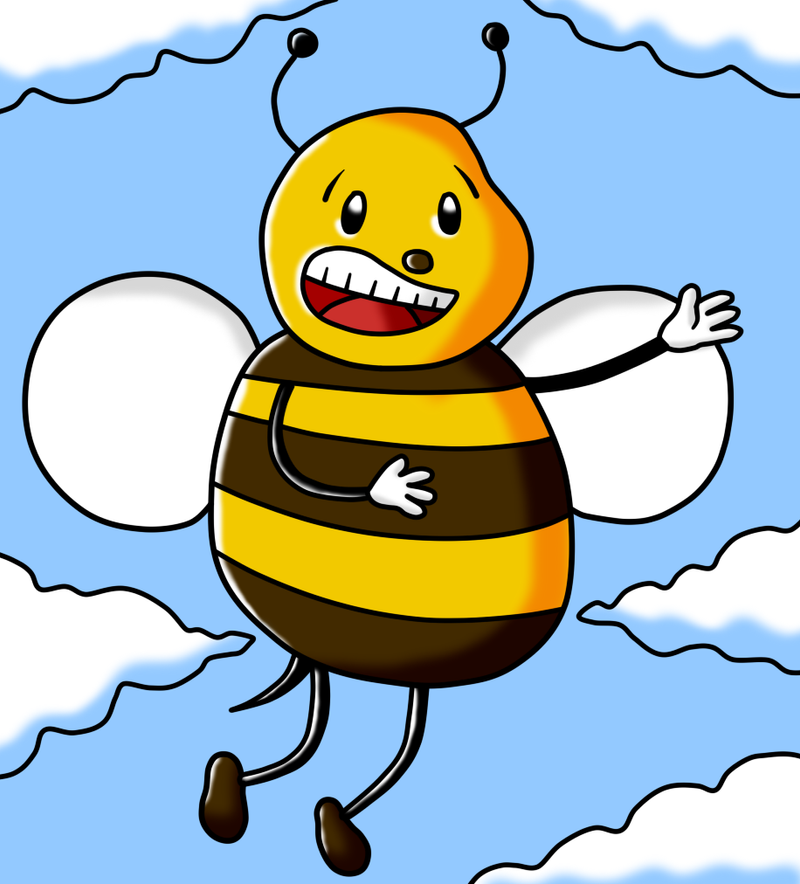 Cosme the Bee by Maleiva