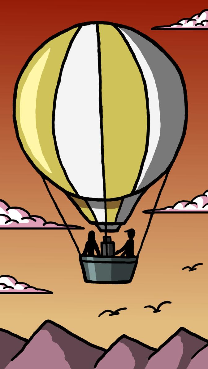 Balloon trip by Maleiva