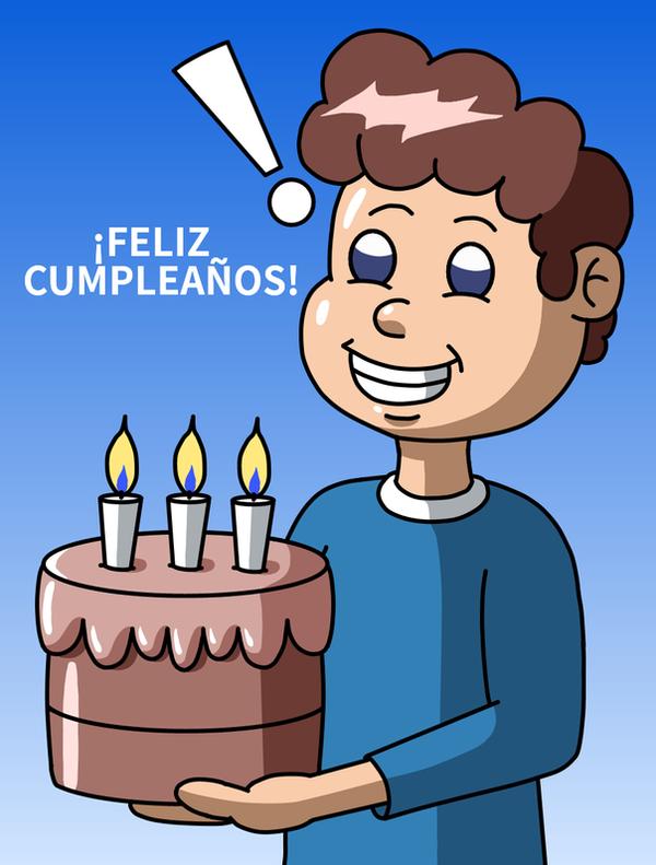 Happy Birthday  NanoEfe by Maleiva