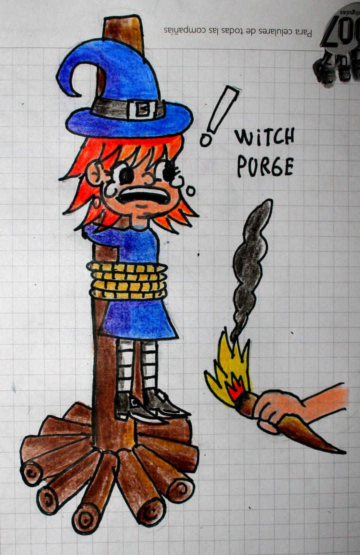 Witch purge by Maleiva