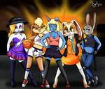 Bunny Squad! by BandiJones
