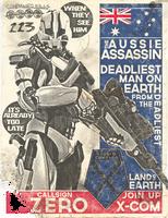 XCOM Recruitment Poster 'Zero' by CoryMcD