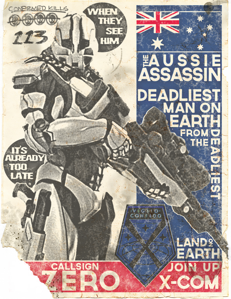 XCOM Recruitment Poster 'Zero' by CoryMcD