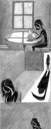 Cup of Tea Narrative Sketches by Izabeth