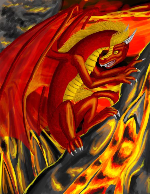 Fire Dragon by Izabeth