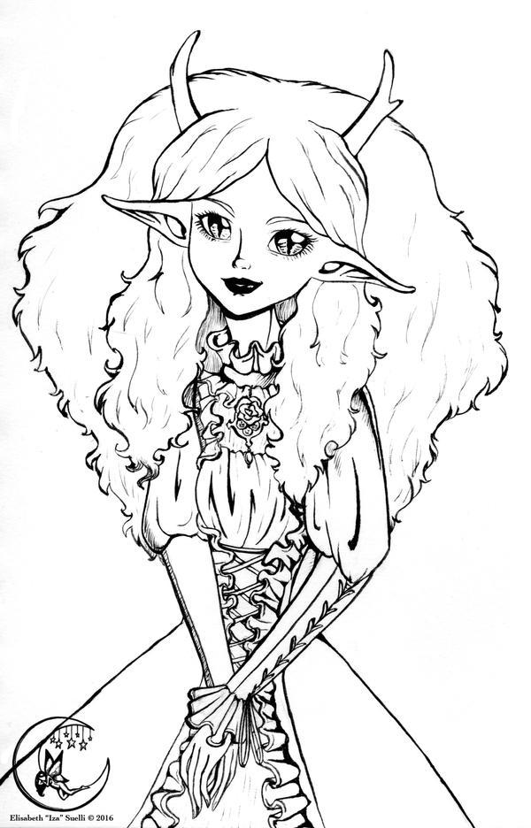 Violet in Ink by Izabeth