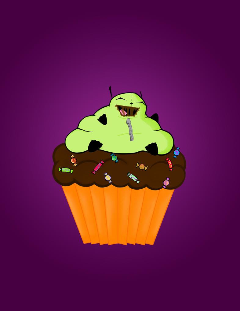 gir cupcake by zombiefairyprincess on deviantart