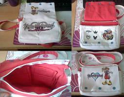 Selfmade Kingdom Hearts Bag - SOLD by Yuseichan