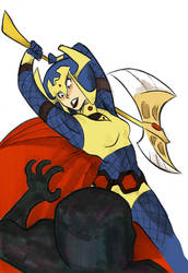Big Barda won't love you back by pkzombie