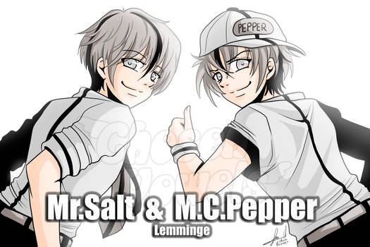#91 Mr. Salt  and  M.C. Pepper