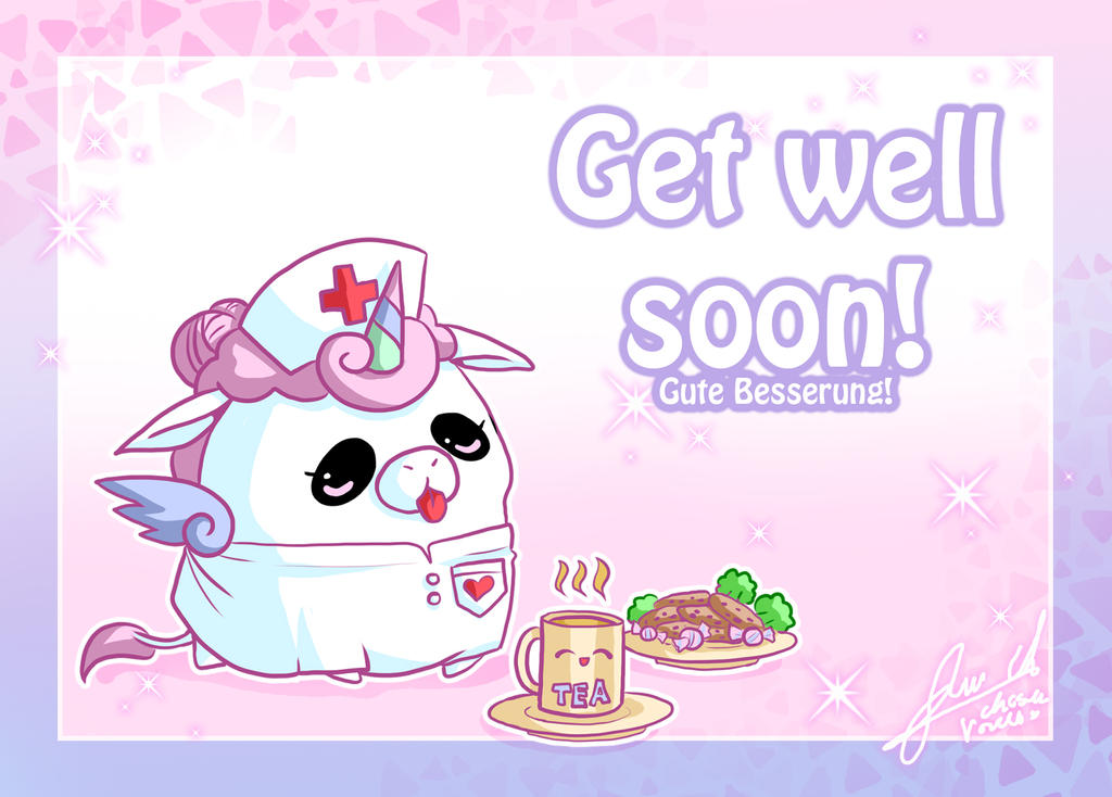 Get well soon by ChosenVowels