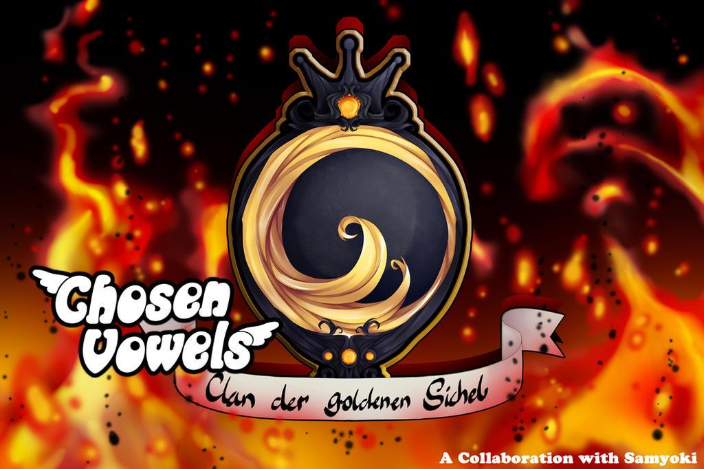 Clan der goldenen Sichel Symbol by ChosenVowels