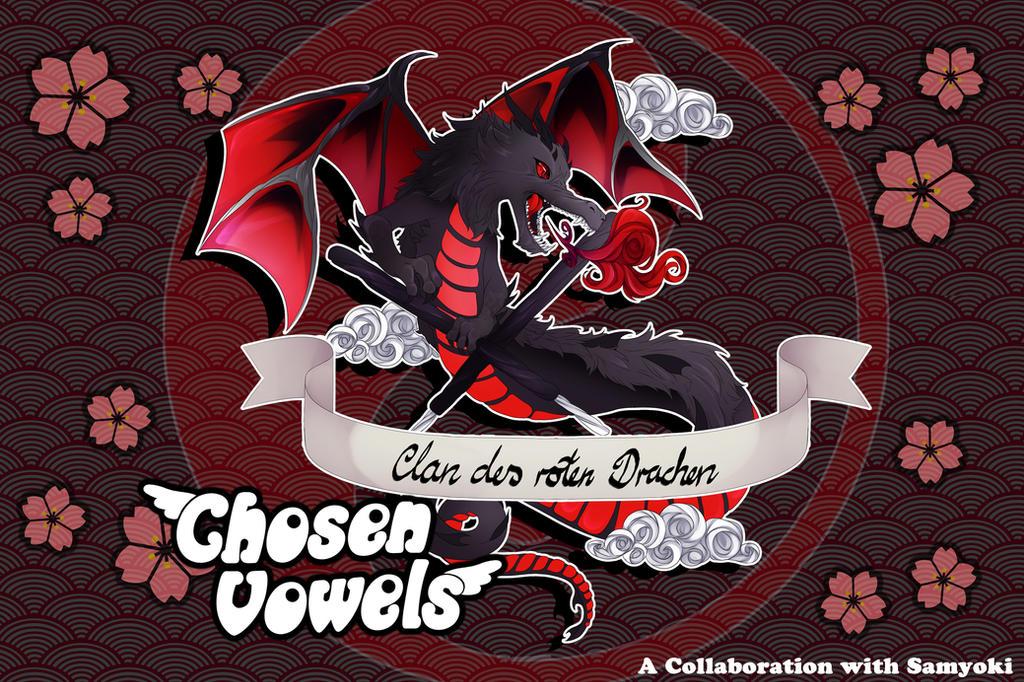 Clan des Roten Drachen Symbol by ChosenVowels