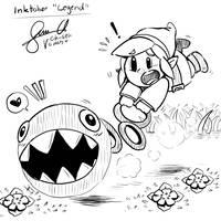 Inktober19 Legend