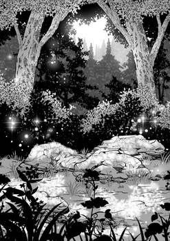 Test Forest (Clip Studio brushes for my web comic)