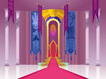 Canterlot Throne Room Front View