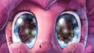 Pinkie Pie Stares