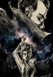 HPMoR Cover Art concept by Hunternif