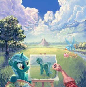 Painter in Equestria