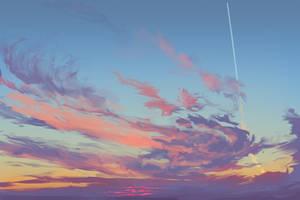 Sunrise 2015-08-19 Sketch by Hunternif