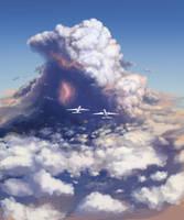 Turbulence [Saxxy Awards 2015] - Flying Into Storm by Hunternif