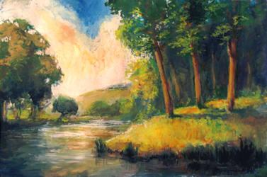 Landscape by Hunternif