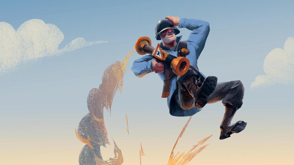Rocket Jumper by Hunternif