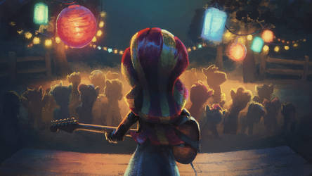 Gig Night by Hunternif