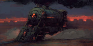 Desert Kharon Express by Hunternif