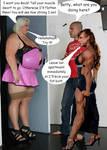 Muscle Girfriend Vs Big Ex Girlfriend