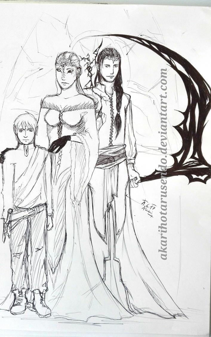 a royal family by akarihotarusendo on deviantart