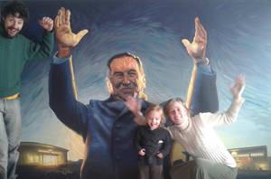 Painting of General Peron (in progress) by sebastianmartino